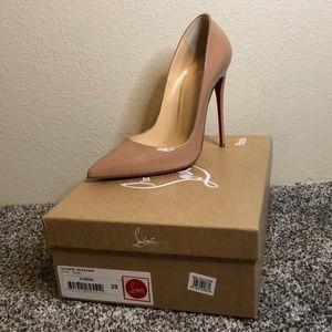 So Kate nude red bottoms size 39